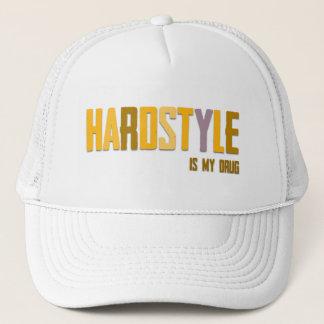Boné Hardstyle é meu chapéu da droga