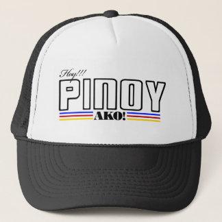 Boné Hoy Pinoy Ako - camisa filipina - Filipinas