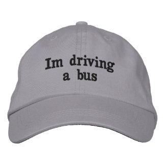 Boné Im conduzindo um chapéu do ônibus