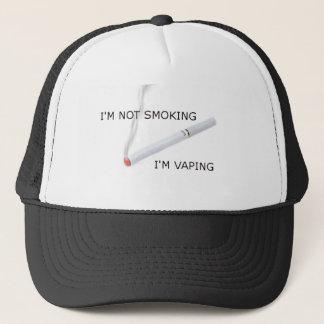 Boné Im Im de fumo que vaping