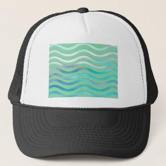Boné Imagem das ondas de Digitas