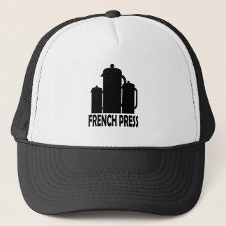 Boné Imprensa do francês