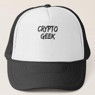 Boné Impressão cripto do geek