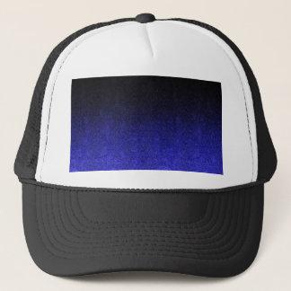Boné Inclinação azul & preto de Falln do brilho