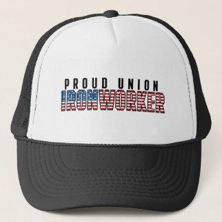 Boné Ironworker da união