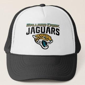 Boné Jaguares da angra do pato selvagem do futebol de