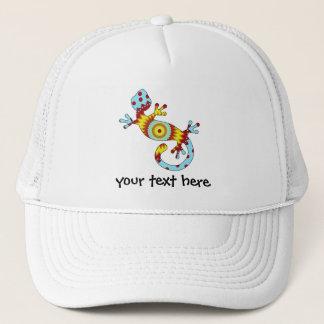 Boné Lagarto colorido do geco do divertimento