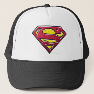 Boné Logotipo dos riscos do S-Protetor | do superman