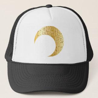 Boné Lua crescente dourada