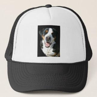 Boné Maior cão suíço da montanha: Feliz