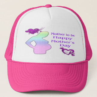 Boné Mamã a ser chapéu do dia das mães