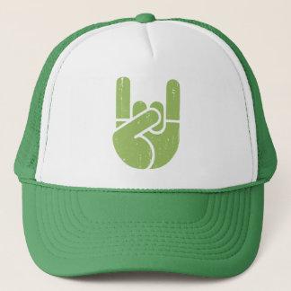 Boné Mão universal da rocha - verde
