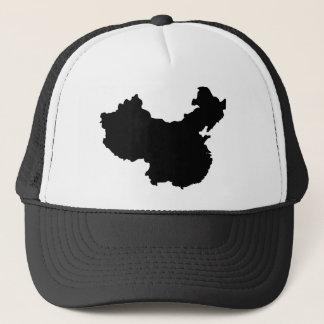 Boné Mapa de China