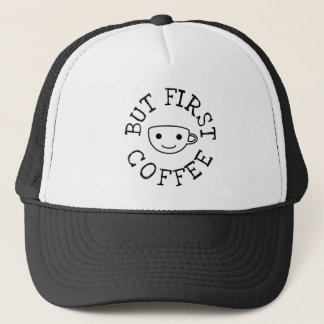 Boné Mas primeiro café