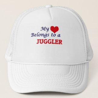 Boné Meu coração pertence a um Juggler