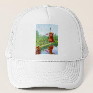 Boné Moinho de vento da impressão, chapéu