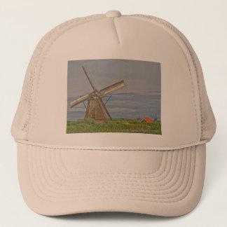 Boné moinhos de vento do local do património mundial de