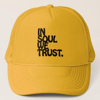 Boné Na alma nós confiamos
