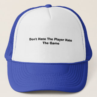 Boné Não deie o ódio The Game do jogador