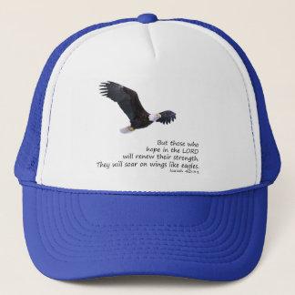 Boné Nas asas goste do chapéu de Eagles