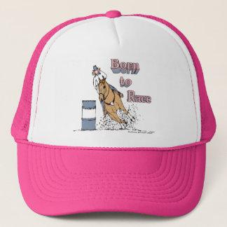 Boné Nascer para competir o chapéu do cavalo do tambor