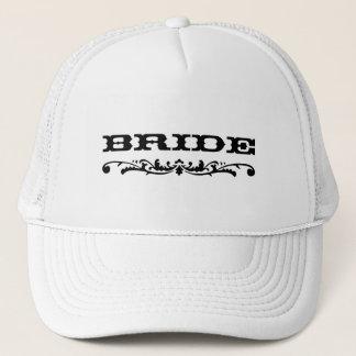 Boné Noiva ocidental do casamento  