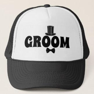 Boné Noivo com o chapéu do camionista do chapéu alto e