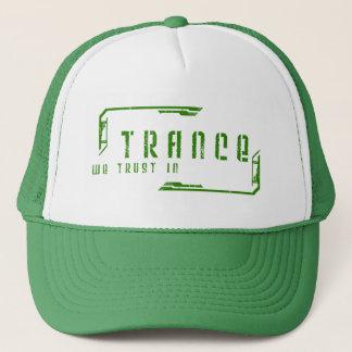 Boné nós confiamos no chapéu do trance
