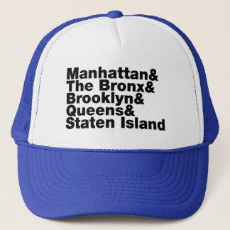 Boné Nova Iorque do ~ de cinco cidades