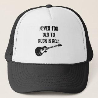Boné Nunca demasiado velho para balançar o rolo de N
