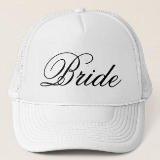 Boné O chapéu do camionista do casamento da noiva