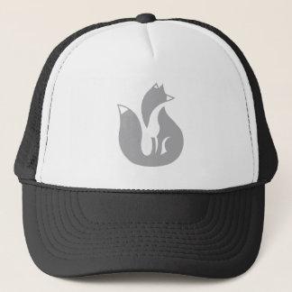 Boné O chapéu do camionista do Fox cinzento
