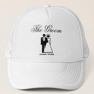 Boné O chapéu do casamento do noivo