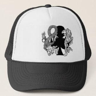 Boné O clube Aces o chapéu do camionista do logotipo