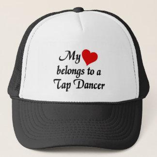 Boné O coração pertence a um dançarino de torneira