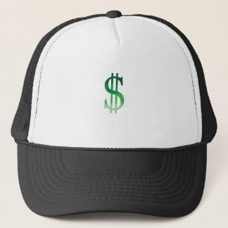 Boné O dólar assina dentro a cor