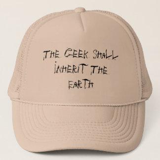 Boné O geek herdará a terra