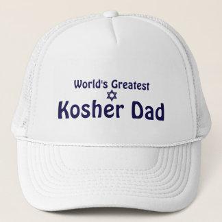 Boné O grande pai Kosher do mundo