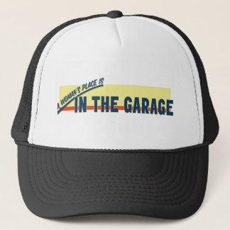 Boné O lugar de uma mulher está na garagem