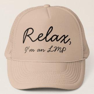 Boné O terapeuta da massagem aqui, relaxa!