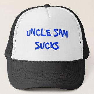Boné O tio Sam suga o chapéu
