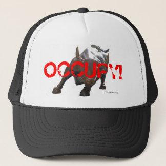 Boné Ocupe o chapéu 2 de Wall Street Bull