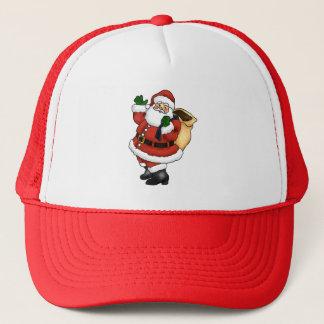 Boné Ondulação feliz de Papai Noel