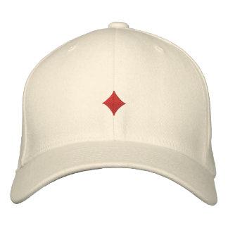 Boné Os diamantes bordaram o chapéu