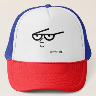 """Boné Os """"geeks ordenam"""" a Engraçado-vista da cara com"""