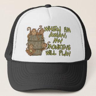 Boné Os macacos jogarão