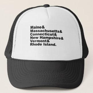 Boné Os seis estados do nordeste que compo Nova