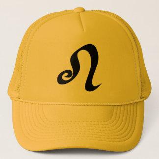 Boné Ouro amarelo do sinal do zodíaco de Leo