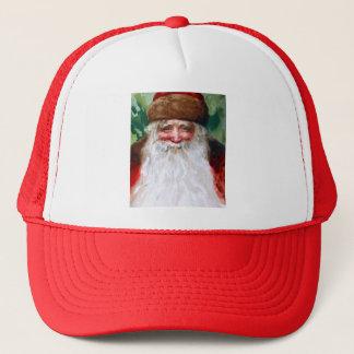 Boné Papai Noel de sorriso