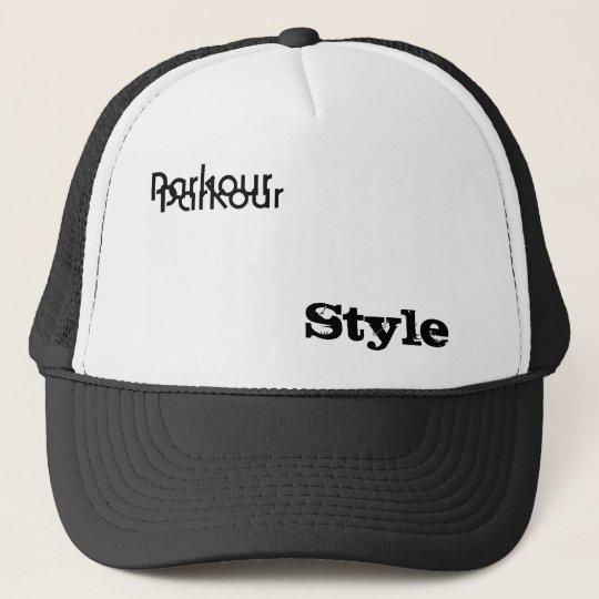 Boné Parkour, Style, Parkour